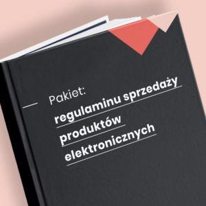regulamin sprzedaży produktów elektronicznych