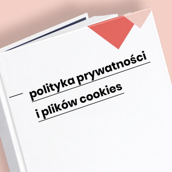 polityka prywatności i plików cookies wzór