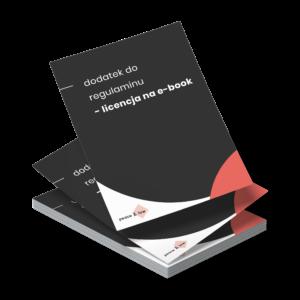 regulamin sprzedaży ebooka licencja